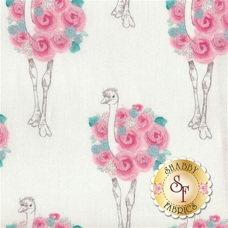 Curiosities C6291-WHITE by Amanda Herring for Riley Blake Designs