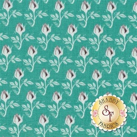 Curiosities C6294-TEAL by Amanda Herring for Riley Blake Designs