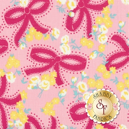Dainty Darling C5851-PINK by Riley Blake Designs