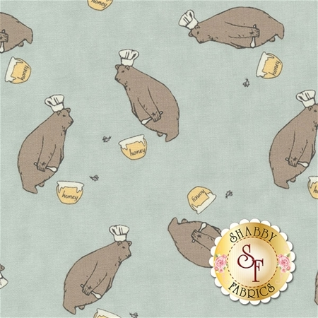 Darling Little Dickens 49000-16 Puddle by Lydia Nelson for Moda Fabrics