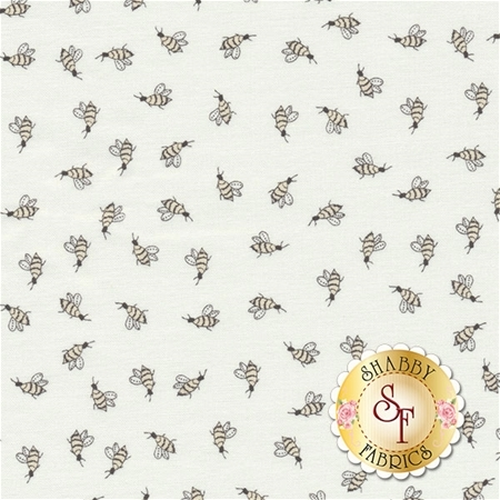 Darling Little Dickens 49006-11 Cloud by Lydia Nelson for Moda Fabrics REM