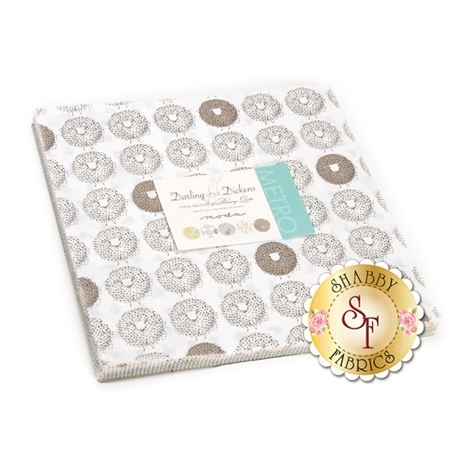 Darling Little Dickens  Layer Cake by Lydia Nelson for Moda Fabrics