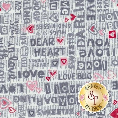 Dear Heart 3591-98 from Studio E Fabrics