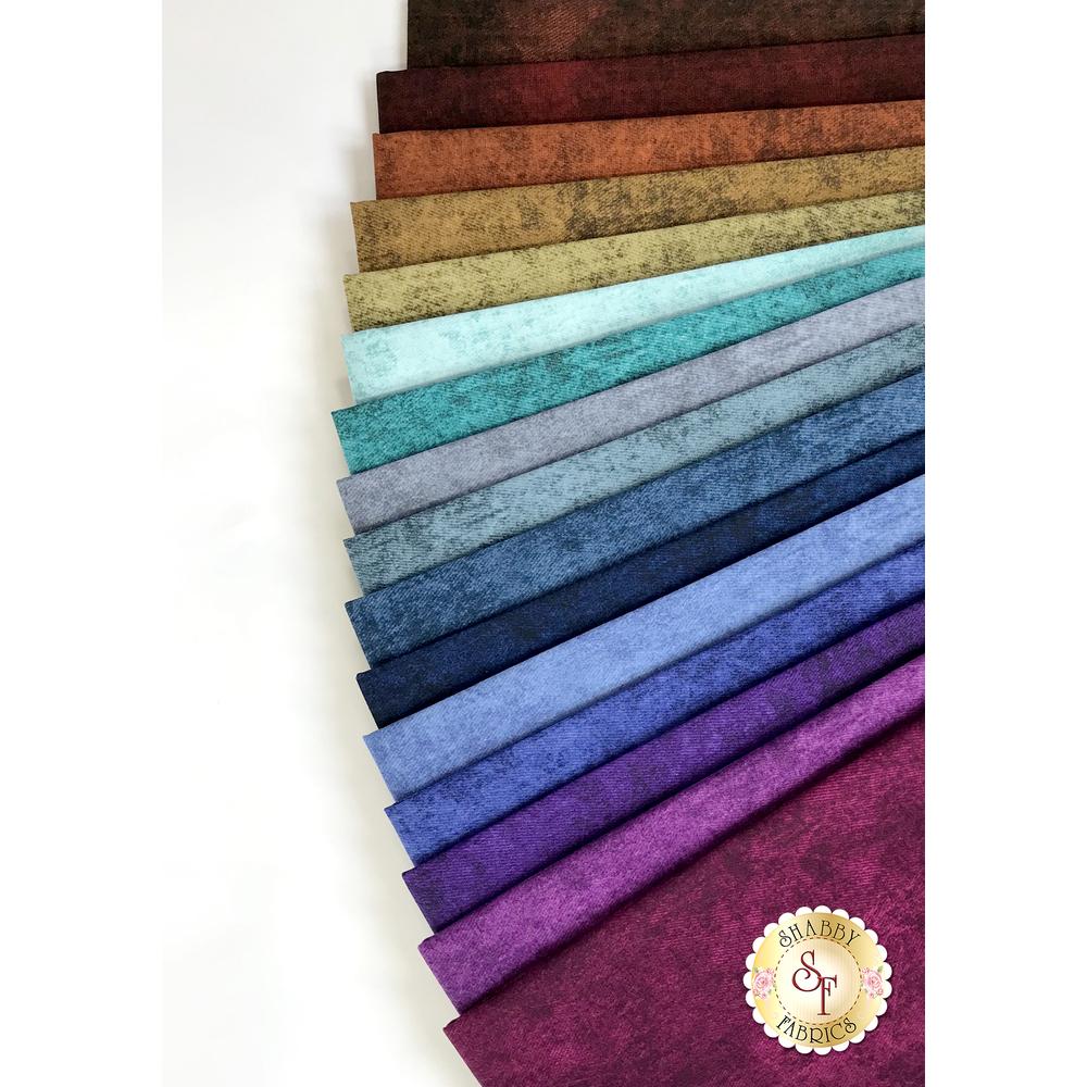 Denim 16 FQ Set by Jinny Beyer for RJR Fabrics