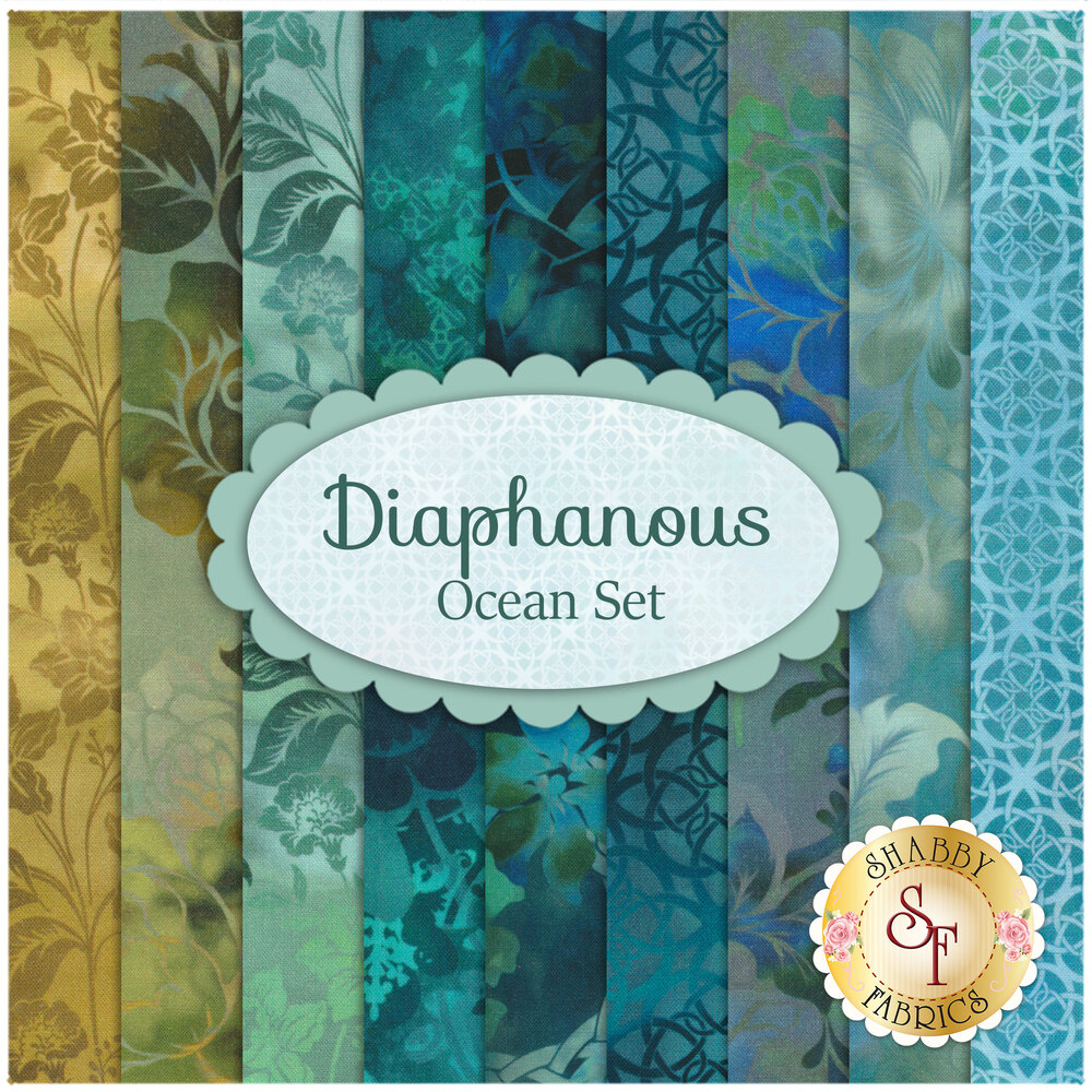 Diaphanous  9 FQ Set - Ocean Set by Jason Yenter