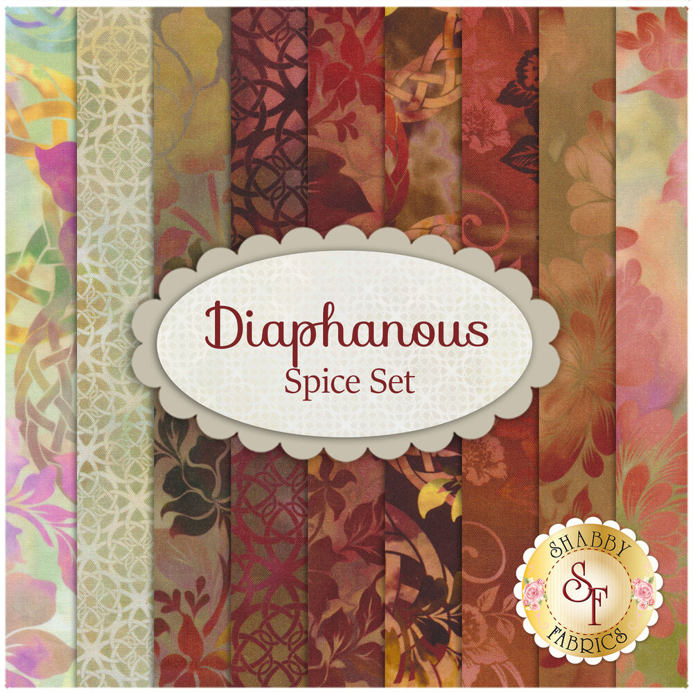 Diaphanous  9 FQ Set - Spice Set by Jason Yenter