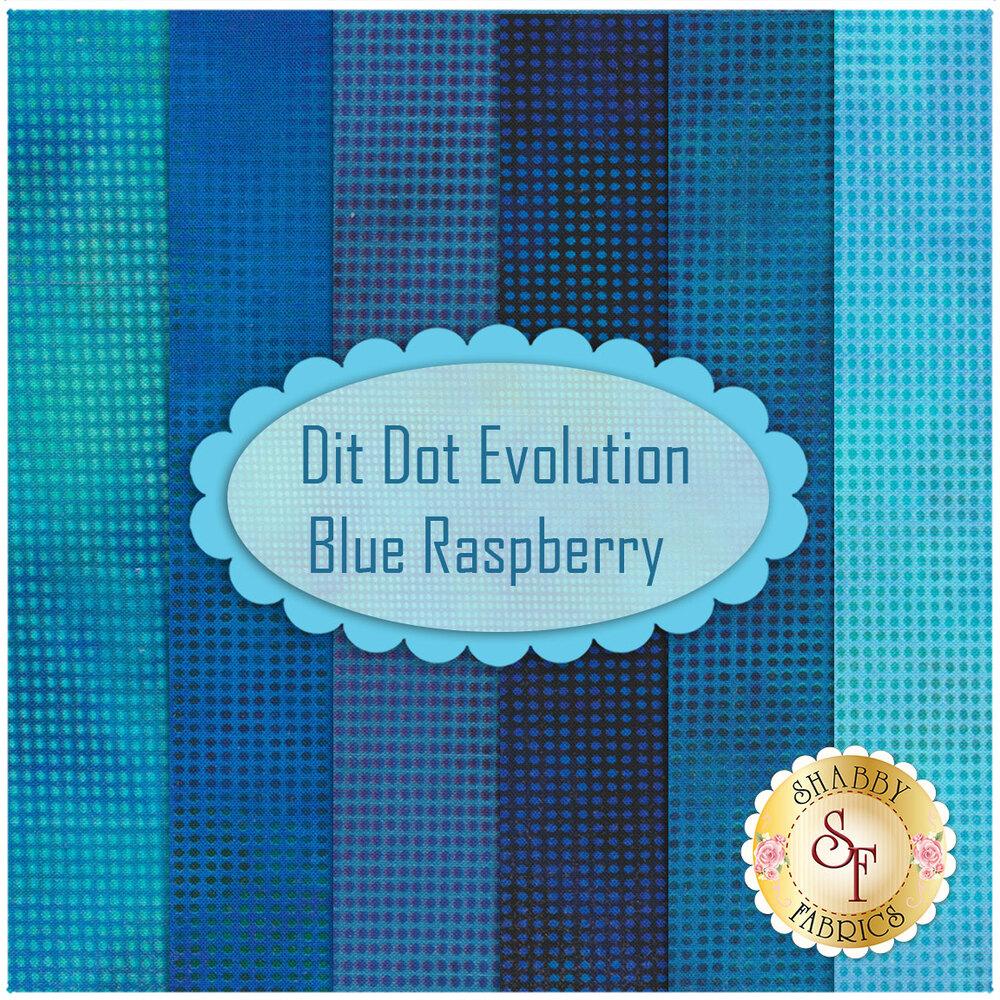 Dit Dot Evolution  6 FQ Set - Blue Rapsberry Set available now
