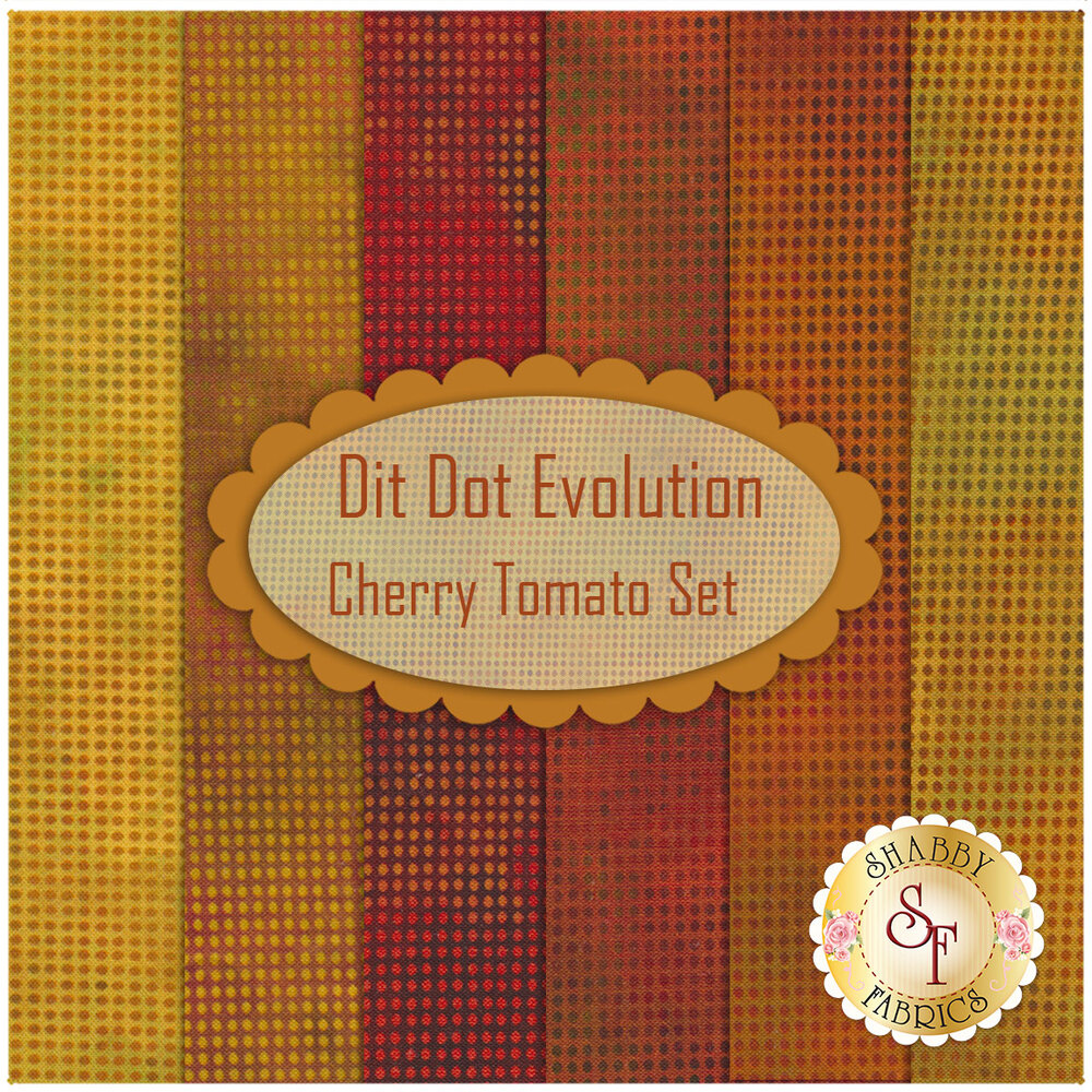 Dit Dot Evolution  6 FQ Set - Cherry Tomato Set available now