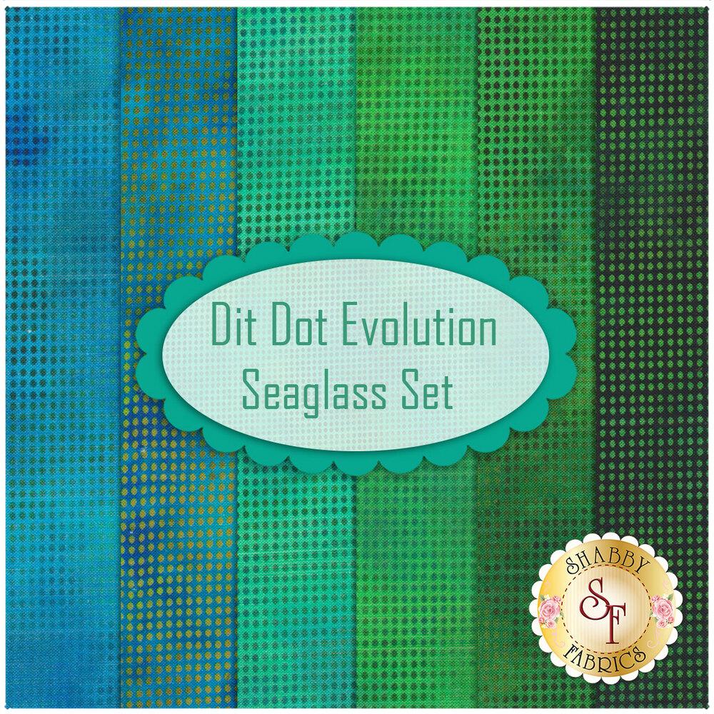 Dit Dot Evolution  6 FQ Set - Seaglass Set available now