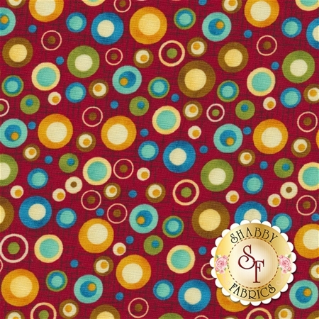 Doodle Days Calendar 8659-88 by Leanne Anderson for Henry Glass Fabrics