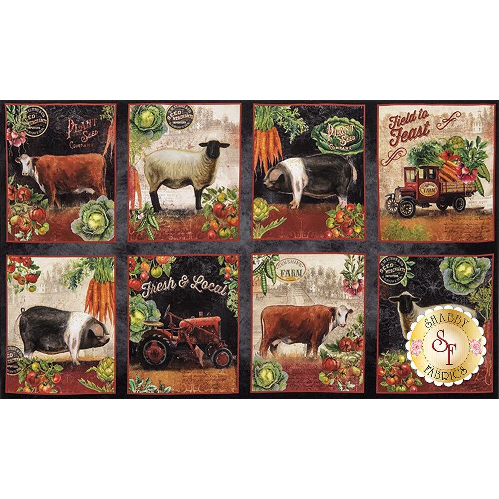 Down On The Farm Digital 17185-163 Panel by Robert Kaufman Fabrics
