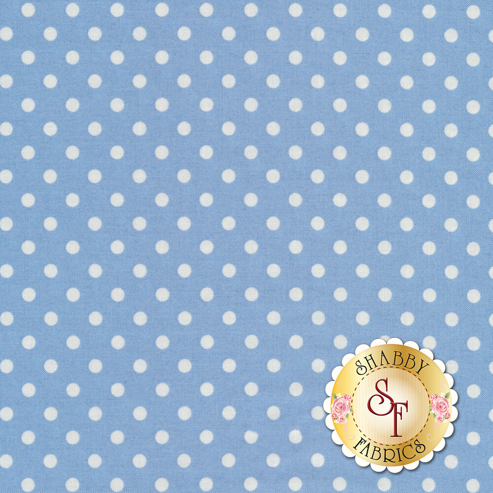 Dumb Dot  CX2490-PERI by Michael Miller Fabrics at Shabby Fabrics