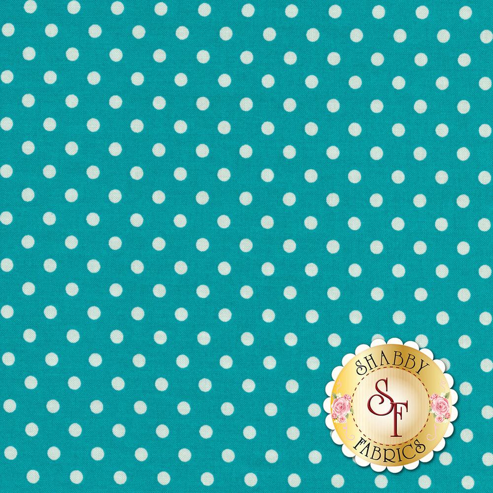 Dumb Dot CX2490-WATR by Michael Miller Fabrics at Shabby Fabrics