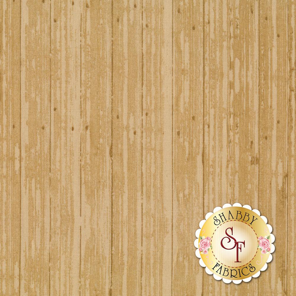 Tan wood grain | Shabby Fabrics