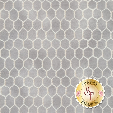 Early To Rise 89161-991 Chicken Wire Grey by Danhui Nai for Wilmington Prints REM C