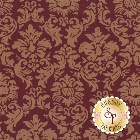 Elegant Roosters Y1713-50 by Dan DiPaolo for Clothworks Fabrics