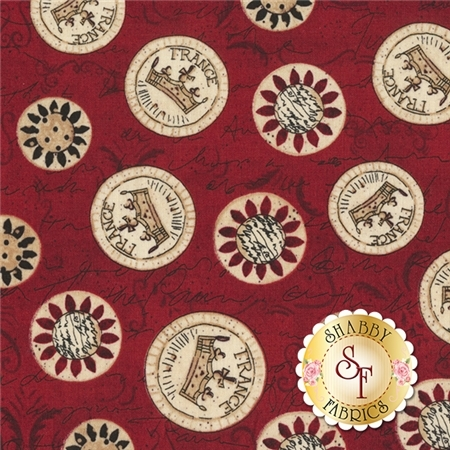 Elegant Roosters Y1714-51 by Dan DiPaolo for Clothworks Fabrics