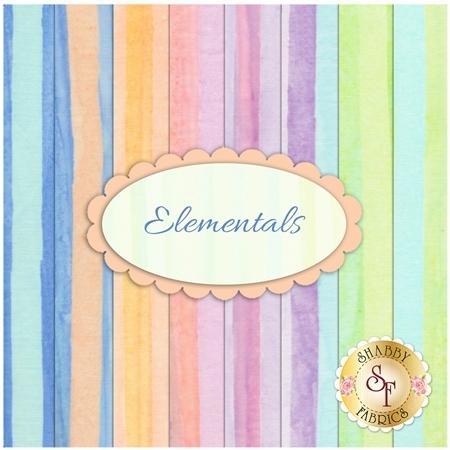 Artisan Batiks Elementals  8 FQ Set by Robert Kaufman Fabrics