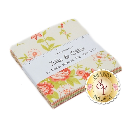 Ella & Ollie  Charm Pack by Fig Tree & Co. for Moda Fabrics