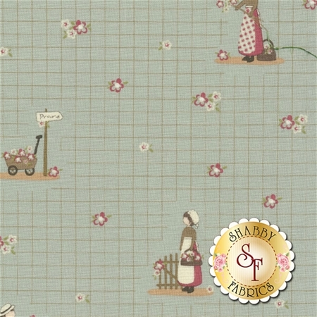 Elm Cottage 42174-1 by L'Atelier Perdu for Windham Fabrics