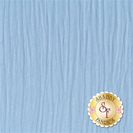 Embrace Bamboo Solids - Baby Blue Double Gauze from Shannon Fabrics
