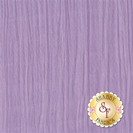 Embrace Bamboo Solids - Lavender Double Gauze from Shannon Fabrics
