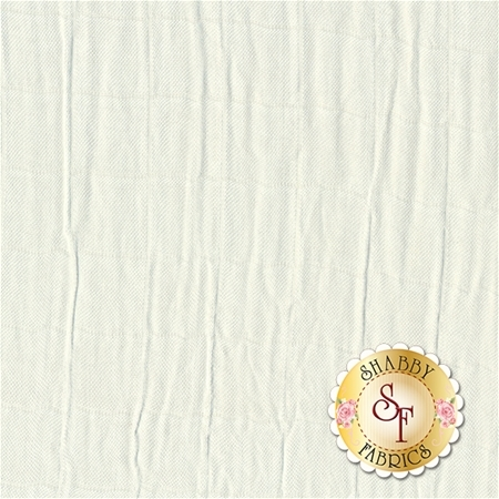 Embrace Bamboo Solids - Natural Double Gauze from Shannon Fabrics