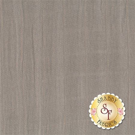 Embrace Bamboo Solids - Silver Double Gauze from Shannon Fabrics