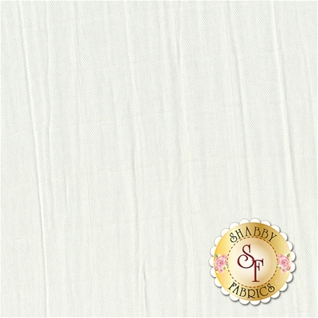 Embrace Bamboo Solids - Snow Double Gauze from Shannon Fabrics