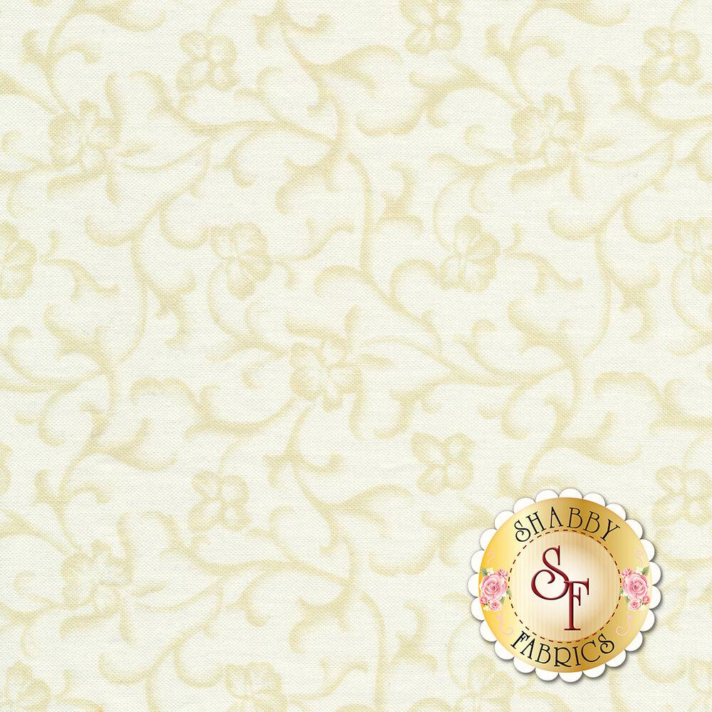 Emma's Garden 9177-E Tonal Scroll by Debbie Beaves for Maywood Studio