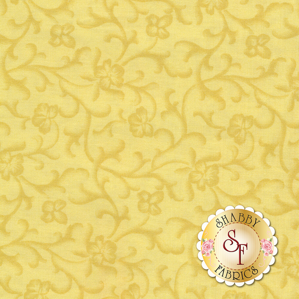 Emma's Garden 9177-S Tonal Scroll by Debbie Beaves for Maywood Studio