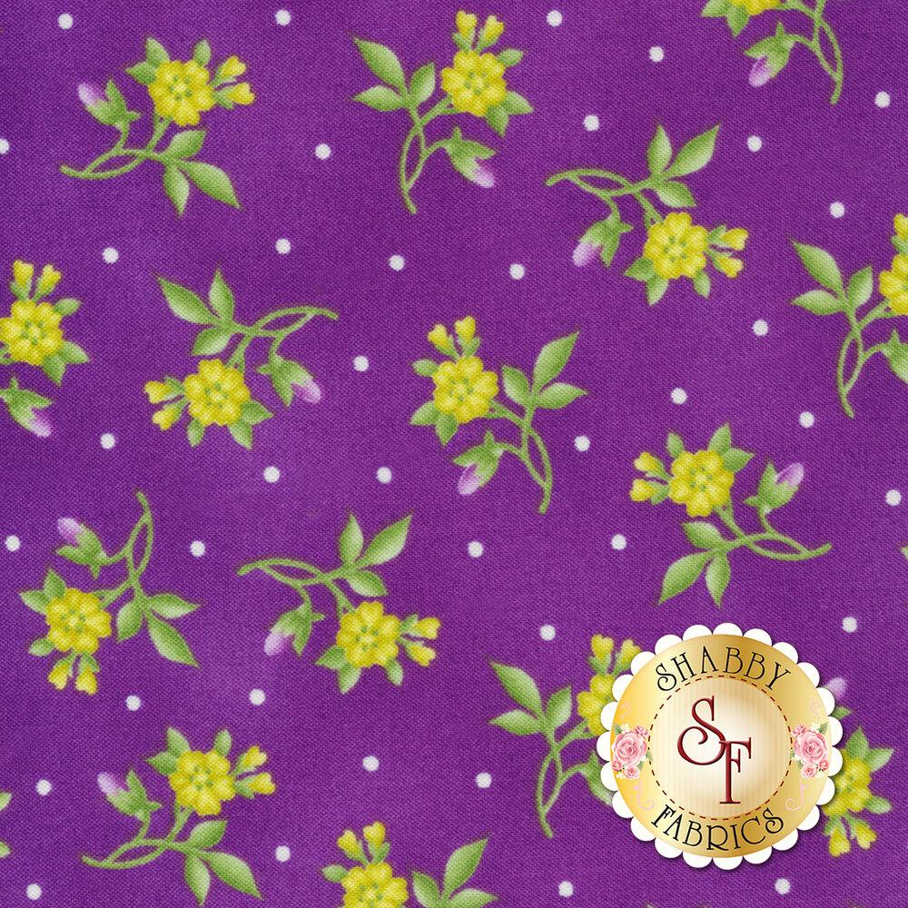 Emma's Garden 9178-P Little Flower by Maywood Studio