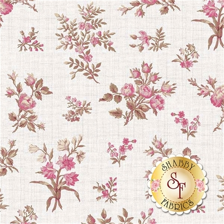 English Rose C6971-CREAM by Penny Rose Fabrics