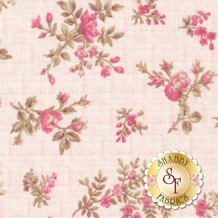 English Rose C6971-PINK by Penny Rose Fabrics
