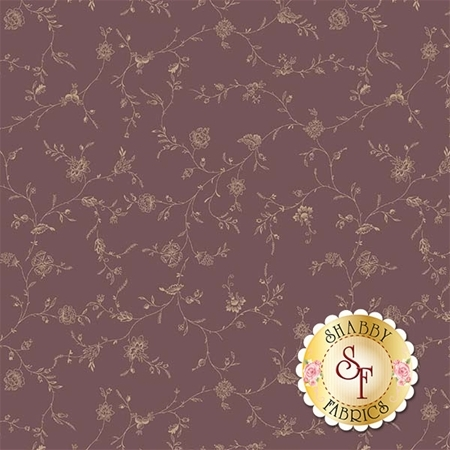 English Rose C6972-BROWN by Penny Rose Fabrics