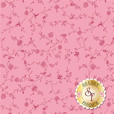 English Rose C6972-PINK by Penny Rose Fabrics