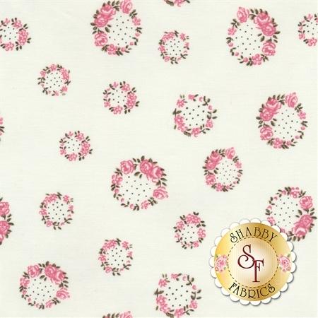 English Rose C6973-CREAM by Penny Rose Fabrics