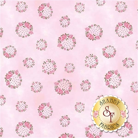 English Rose C6973-LTPINK by Penny Rose Fabrics