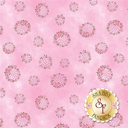 English Rose C6973-PINK by Penny Rose Fabrics
