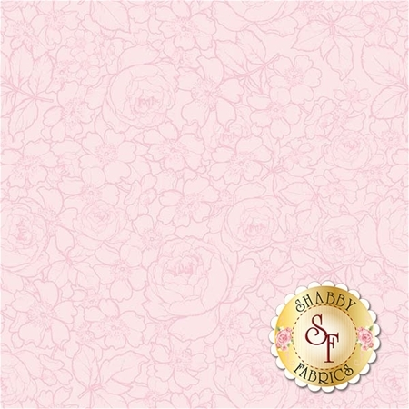 English Rose C6975-LTPINK by Penny Rose Fabrics
