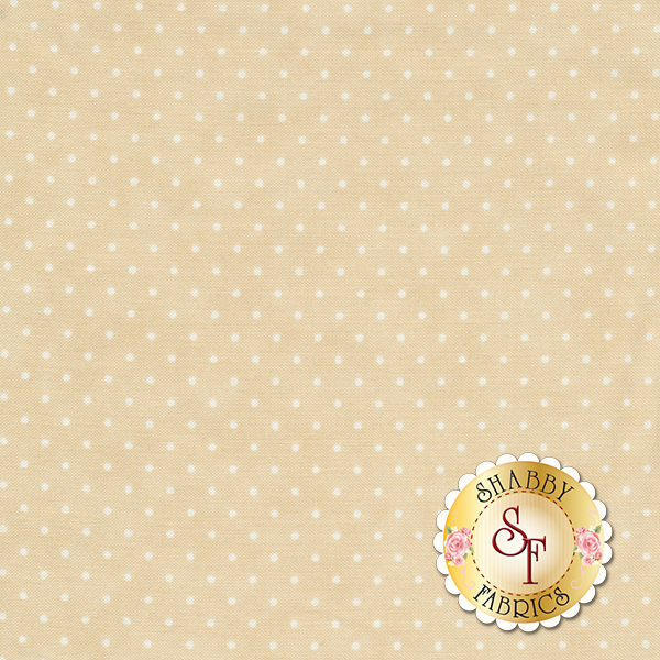 Moda Essential Dot 8654-11 Eggshell For Moda Fabrics