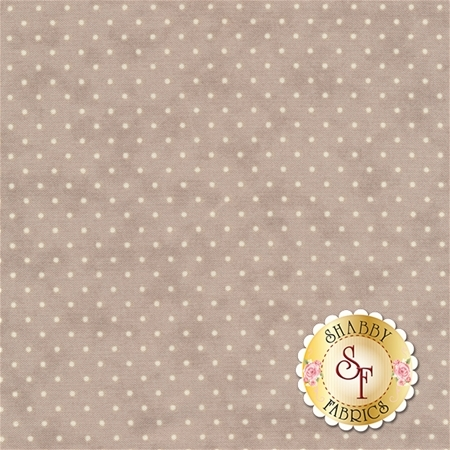 Moda Essential Dots 8654-112 Stone For Moda Fabrics