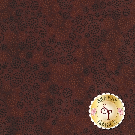 Essentials 39055-229 Sparkles Milk Chocolate by Danhui Nai for Wilmington Prints
