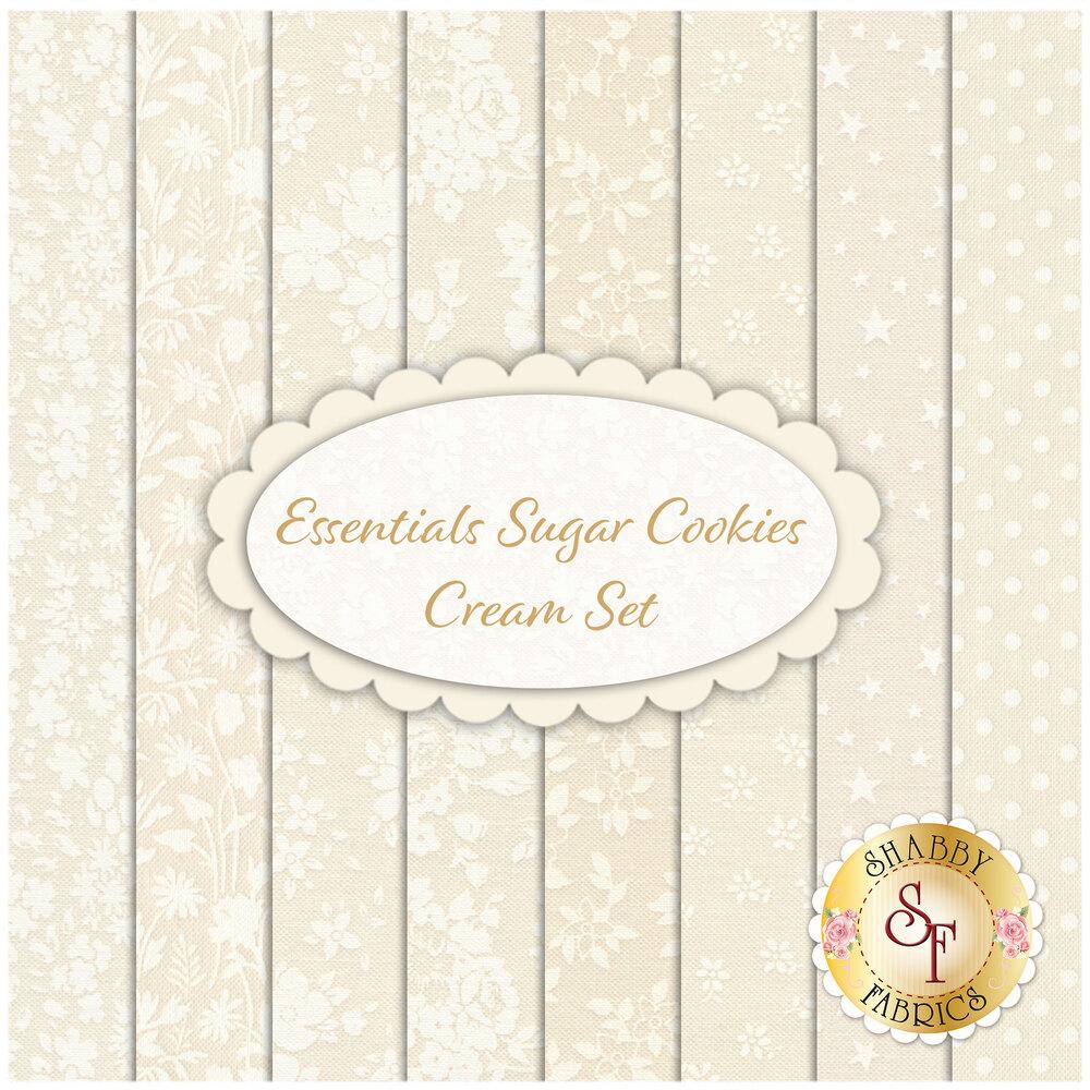 Essentials Sugar Cookies  8 FQ Set for Wilmington Prints