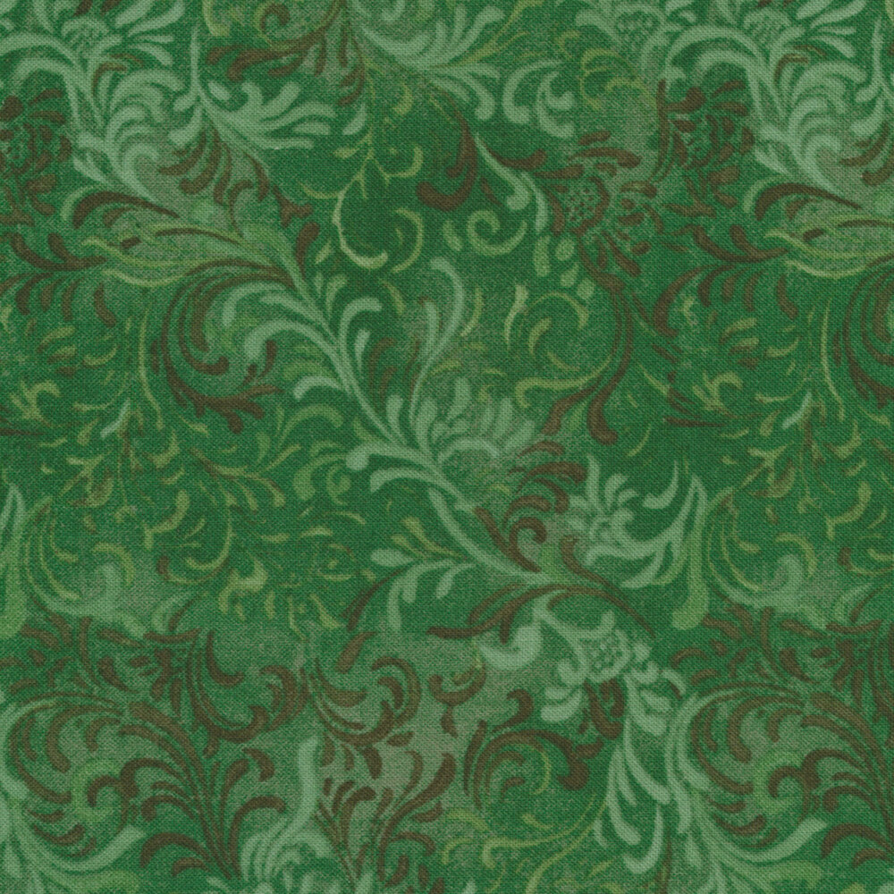 Essentials 51000-747 Jade Green by Danhui Nai for Wilmington Prints