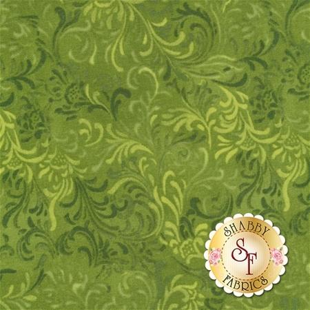 Essentials 51000-770 Embellishment Med. Green for Wilmington Prints REM
