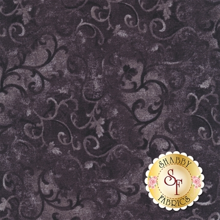 Essentials 89025-999 Scroll Gray/Black by Danhui Nai for Wilmington Prints