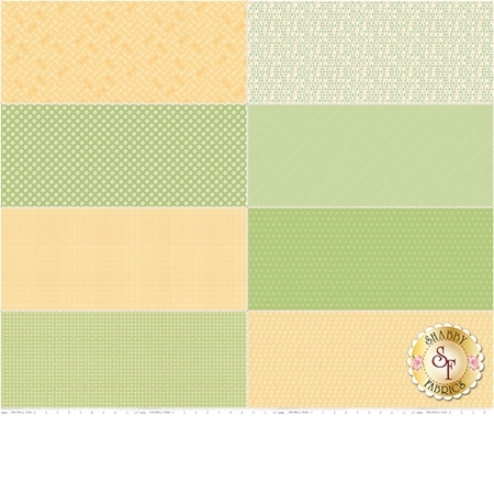Bake Sale 2  FEP6989-GREEN Fat Eighth Panel by Lori Holt for Riley Blake Designs