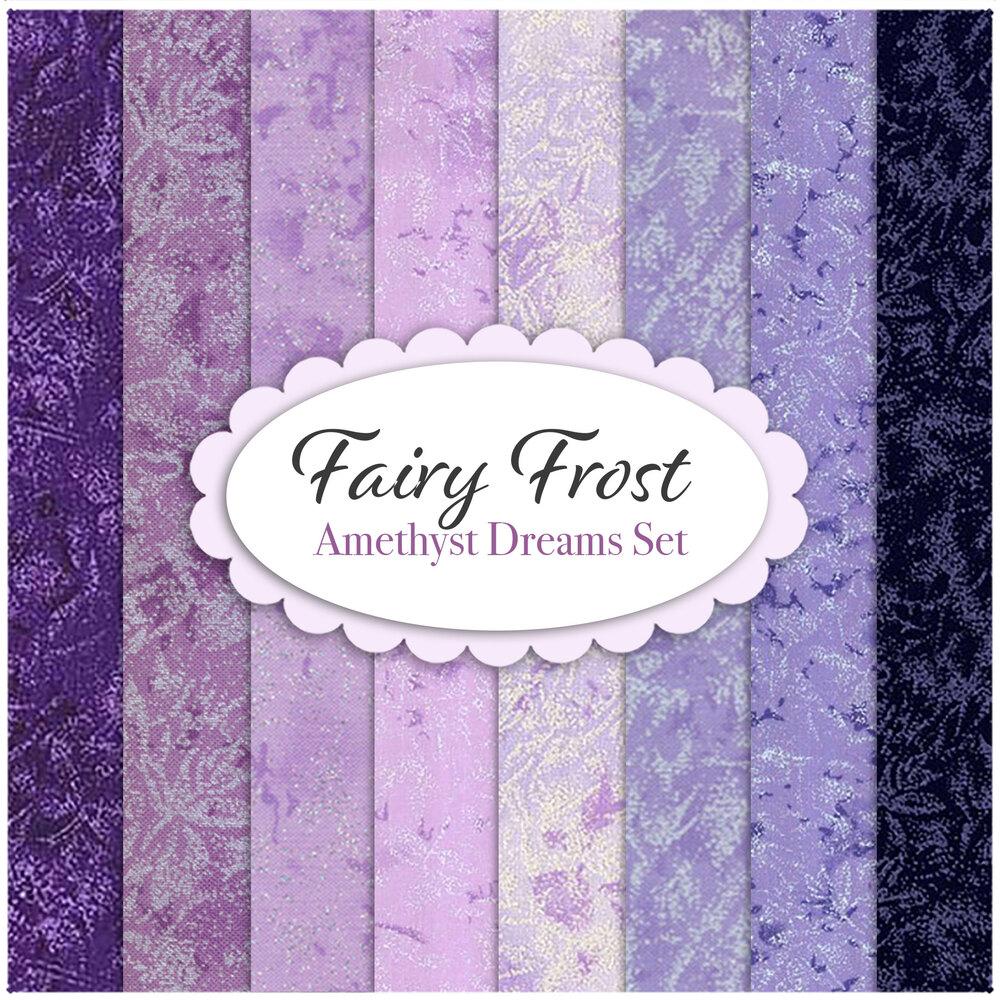 Fairy Frost  8 FQ Set - Mermaid Cove Set by Michael Miller Fabrics | Shabby Fabrics