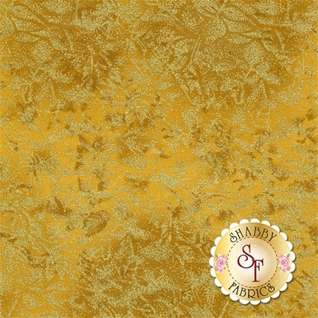 Fairy Frost CM0376-GOLD-D by Michael Miller Fabrics